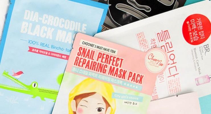 The Latest Subscription Box Focuses on Korean Sheet Masks