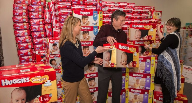 Huggies Ramps Up Efforts to Close Diaper Gap