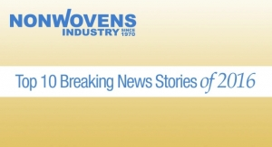Nonwovens Industry's Top 10 Breaking News Stories of 2016
