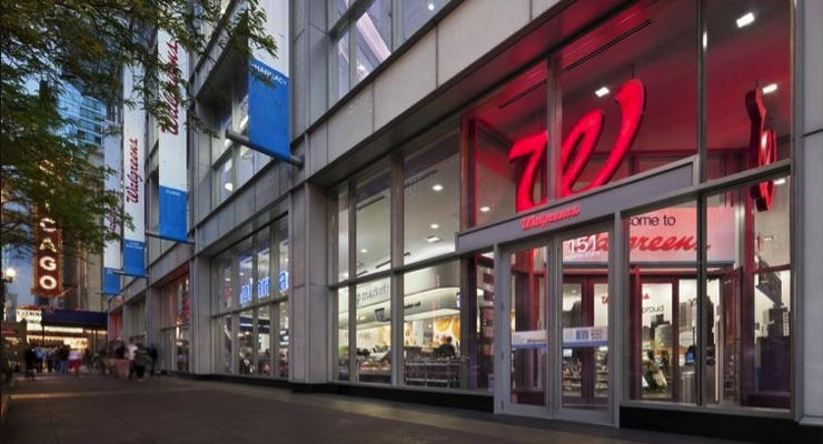 Retail Sales Fall Slightly at Walgreen Boots
