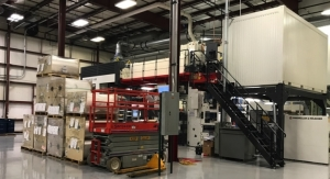 "AWT Labels & Packaging installs 52""Miraflex CI press"
