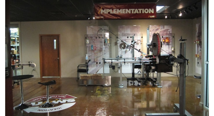 "Smyth's ""Implementation Lab"" at company headquarters in St. Paul, MN"