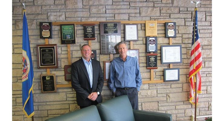 President Scott Fisher (L) & CEO John Hickey
