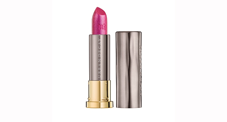Urban Decay Vice Lipstick in Big Bang. The lipsticks were produced by HCT Group.