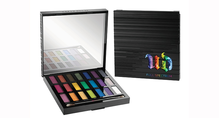Urban Decay's 2016-2017 Launches To-Date: UD's Full Spectrum Palette was a 2016 highlight.
