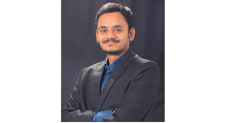 The author, Bhupendra Shirsath