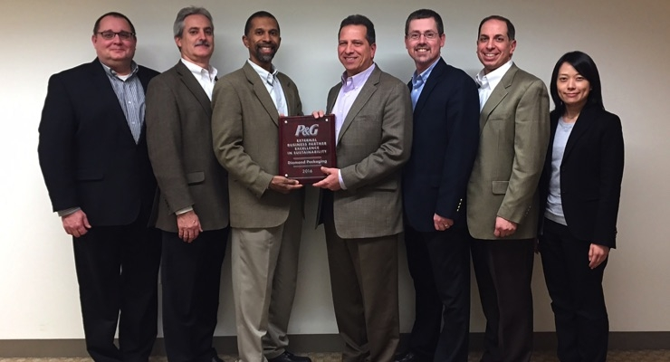Diamond Receives P&G's Sustainability Award