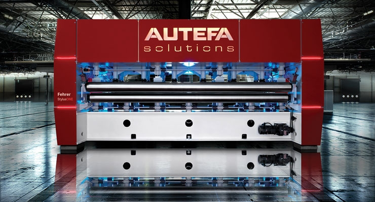 Autefa Solutions' Needle Loom StylusOne is an economical  compact needle loom for medium weight applications.