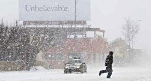 It's a Blizzard!
