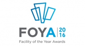 Baxter BioPharma Solutions Wins the 2016 ISPE Facility of the Year Awards (FOYA)