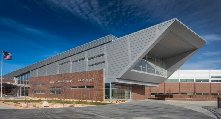 Valspar Teams up with CENTRIA to Provide Architectural Solution  for Neil Armstrong Academy