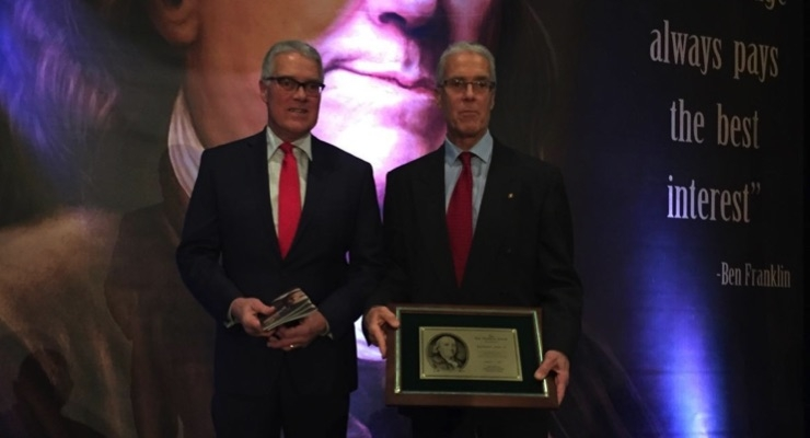 Printing Industry of Michigan Honors Ray Stoney Jr.
