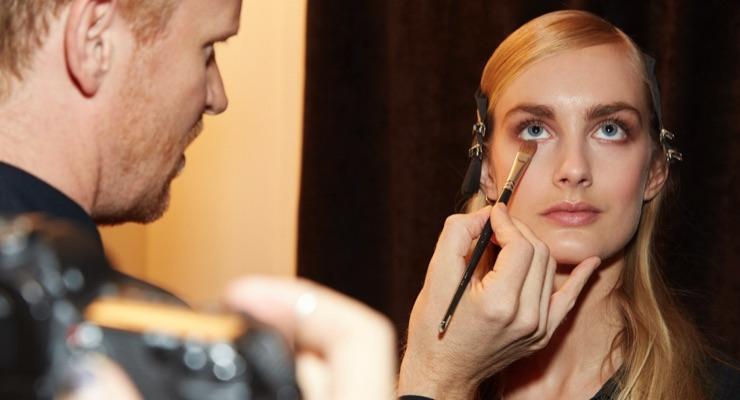 Fashion Week: Maybelline Makes Up Brock, La Perla Models