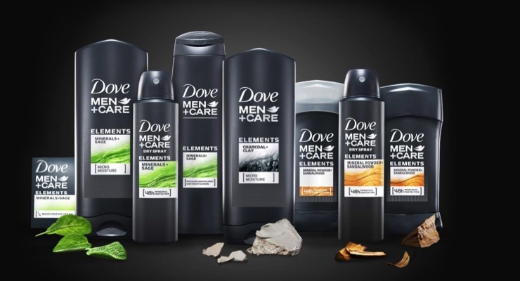 Dove Upgrades Men + Care With 'Elements'