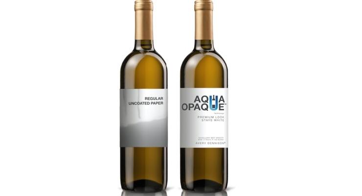 Avery Dennison enhances wine labeling with Aqua Opaque