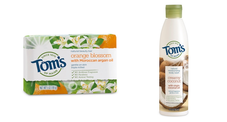 Tom's of Maine Launches Body Care Line in New Packaging