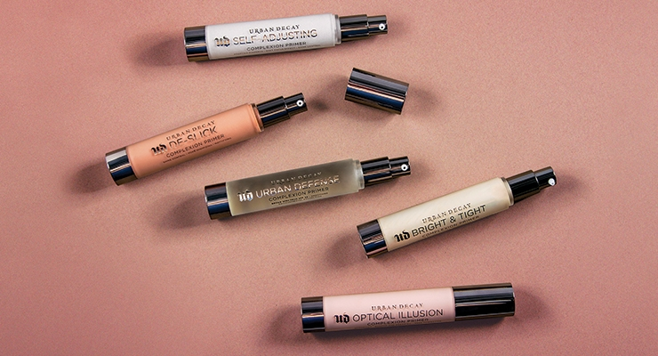 Urban Decay's Face Primer Collection by Fusion Packaging