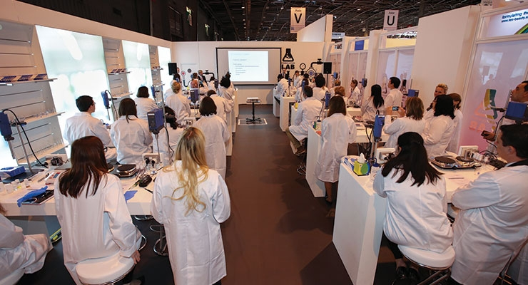 Grab your seat! The popular Formulation Lab is  back at In-Cosmetics Global 2017.