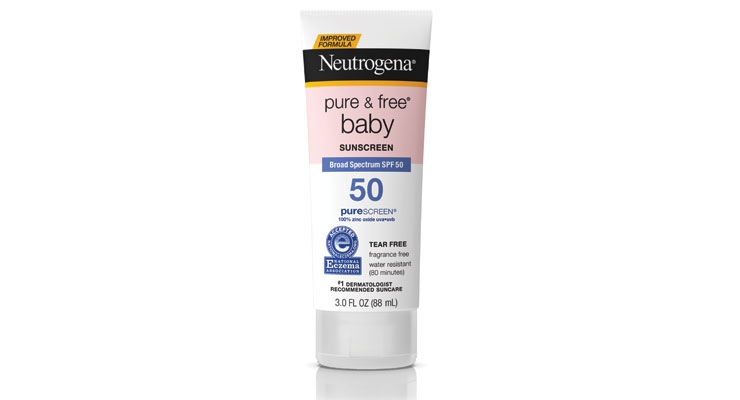 Pedal to the metal. Neutrogena's newest sun care formulas, including Pure & Free Baby Sunscreen, contain 100% zinc.