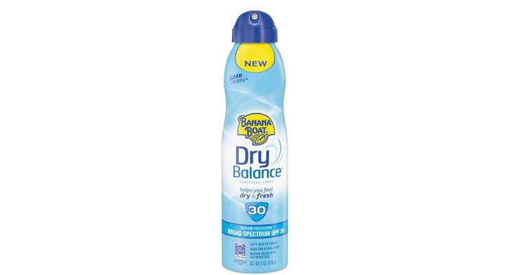 On the dry side. Banana Boat's new Dry Balance sunscreen promises to help you feel dry and fresh.