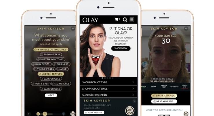 Olay Goes Digital