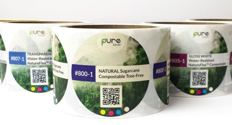 Elevate Packaging announces certified compostable labels made from sugarcane