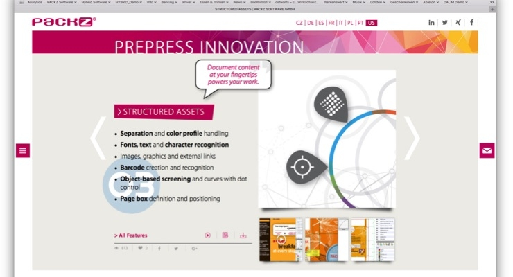 Hybrid Software launches new PackZ website