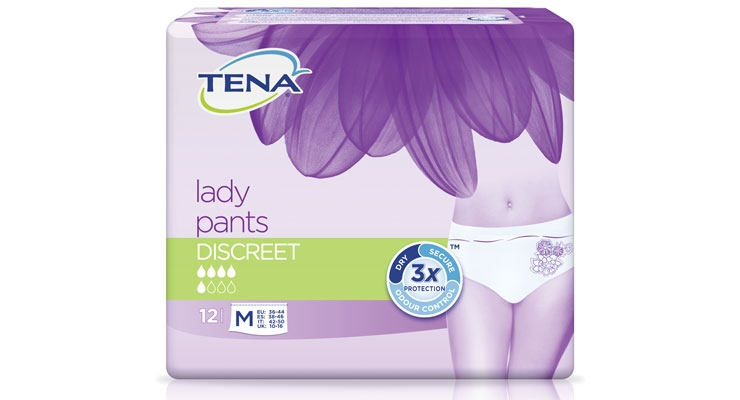 SCA recently made improvements to its TENA Lady Pants Discreet range.