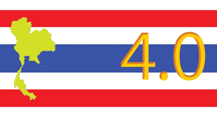 The plan Thailand 4.0 intends to free the country from the middle income trap.