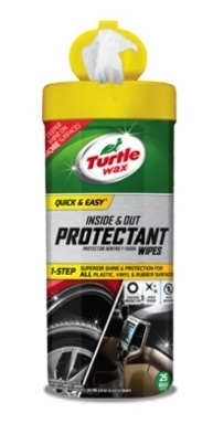 Turtle Wax Launches Automotive Cleaning Wipes