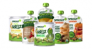 Sprout Foods Debuts Plant-Based Organic Baby and Toddler Purees and Snacks