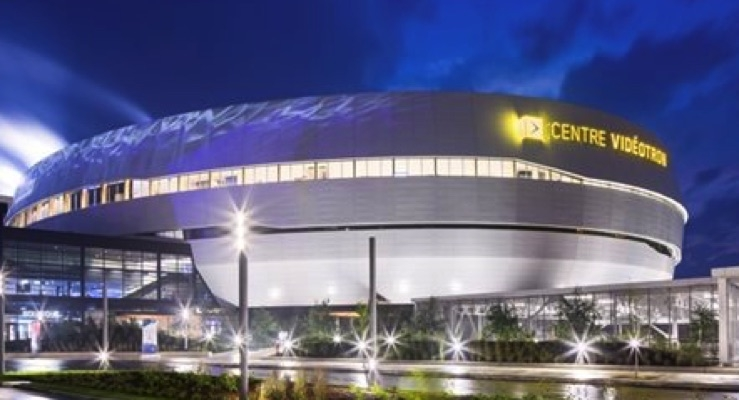 DURANAR XL Coatings by PPG Used on New Centre Vidéotron in Quebec City