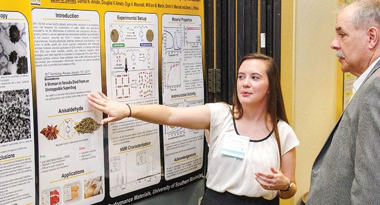 USM student Sarah Swilley