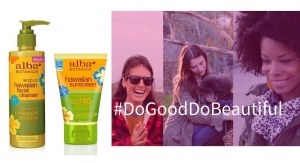 "Alba Botanica Launches New ""Do Good. Do Beautiful"" Campaign"