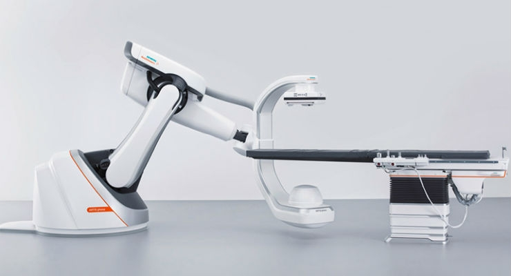 FDA Clears Siemens' Robot-Supported ARTIS Pheno Angiography System