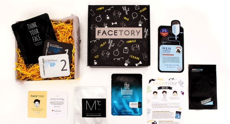 Sheet Mask Subscription Service Launches Men's Box