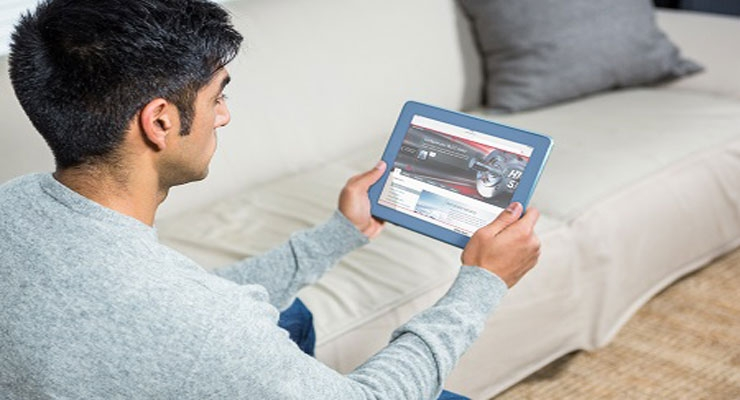 Configure high-speed drives from your sofa.
