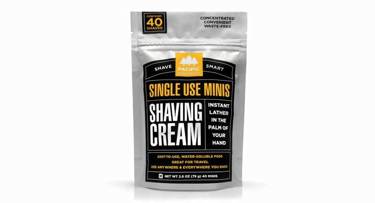 Shaving Cream Minis from Pacific Shave