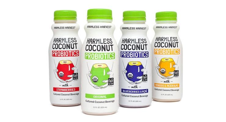 Harmless Harvest Launches Probiotic Beverage Line