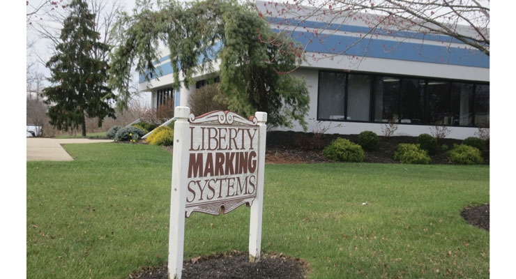 Liberty Marking Systems' label manufacturing facility in Cincinnati.