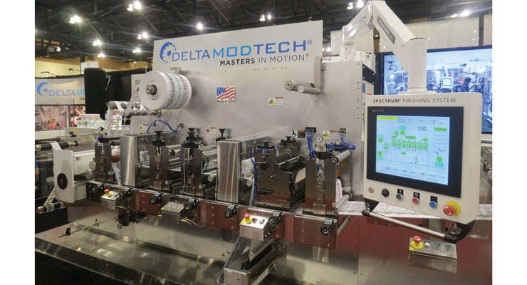 Delta ModTech's Spectrum finishing system on display at Dscoop.