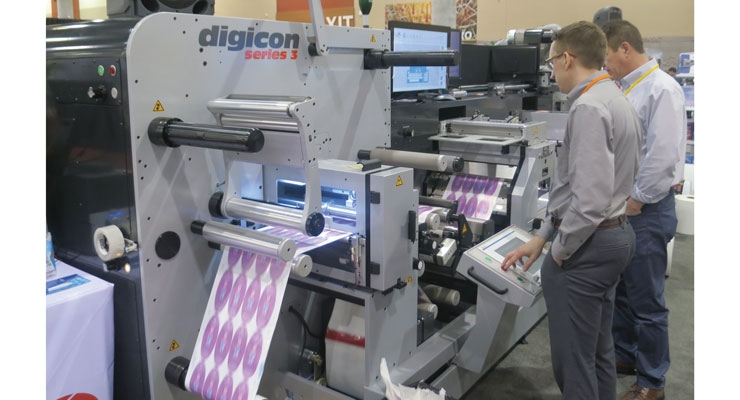 AB Graphic showed its Digicon Series 3 at the Technology Showcase.