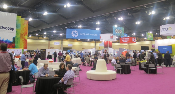 The Technology Showcase drew crowds to see the latest innovations.