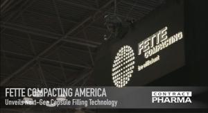 Fette Unveils Next-Gen Capsule Filling Technology