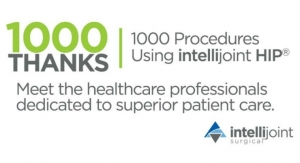 Intellijoint Surgical Completes 1,000 Hip Replacements with intellijoint HIP