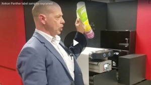 Xeikon Panther label samples explained