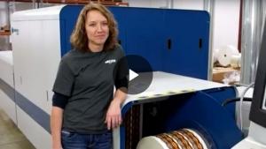 Domino N610i digital UV inkjet label press helps Smyth