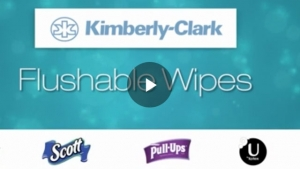Kimberly-Clark Flushable Wipes