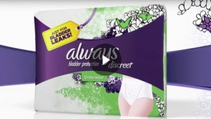 Incontinence Underwear that Moves Like You Do: Always Discrete