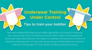 Pampers Offers Tips to Train Your Toddler